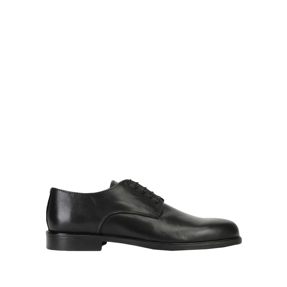 レオナルド プリンシピ LEONARDO PRINCIPI メンズ シューズ・靴 【laced shoes】Black