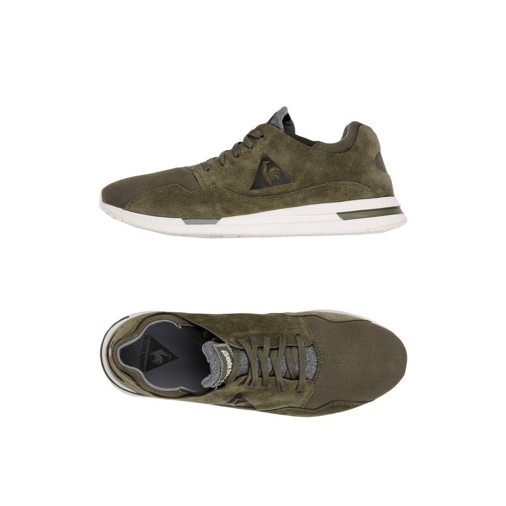 ルコックスポルティフ LE COQ SPORTIF メンズ スニーカー シューズ・靴【lcs r pure waxy canvas sneakers】Military green