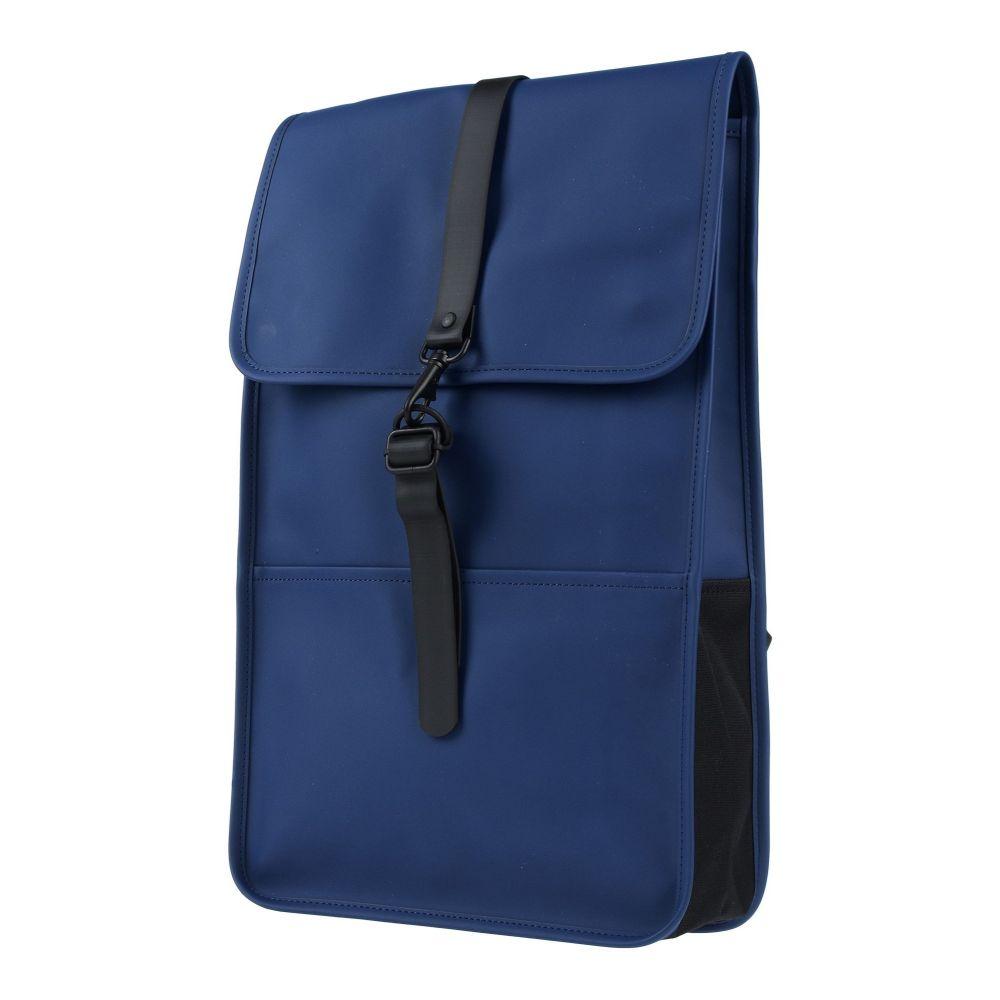 レインズ RAINS メンズ バッグ 【backpack & fanny pack】Blue