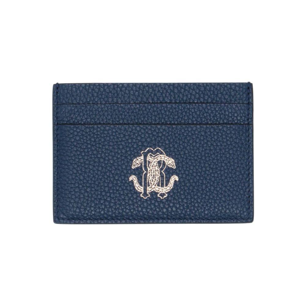 ロベルト カヴァリ ROBERTO CAVALLI メンズ ビジネスバッグ・ブリーフケース バッグ【document holder】Dark blue