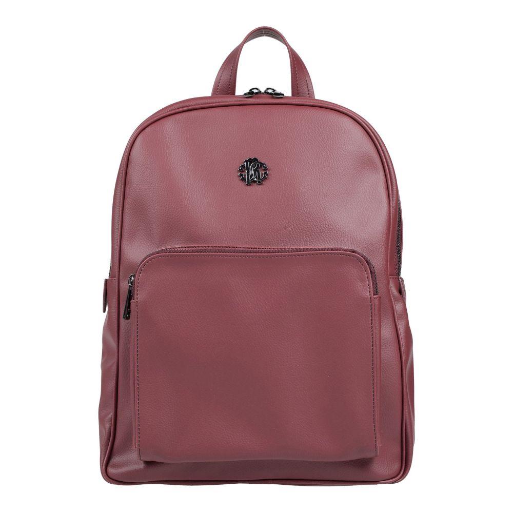 ロベルト カヴァリ ROBERTO CAVALLI メンズ バッグ 【backpack & fanny pack】Maroon
