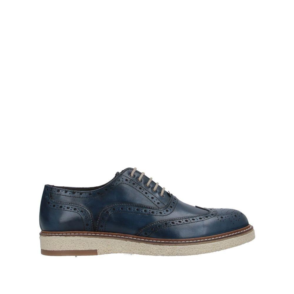 アンジェロ パロッタ ANGELO PALLOTTA メンズ シューズ・靴 【laced shoes】Blue