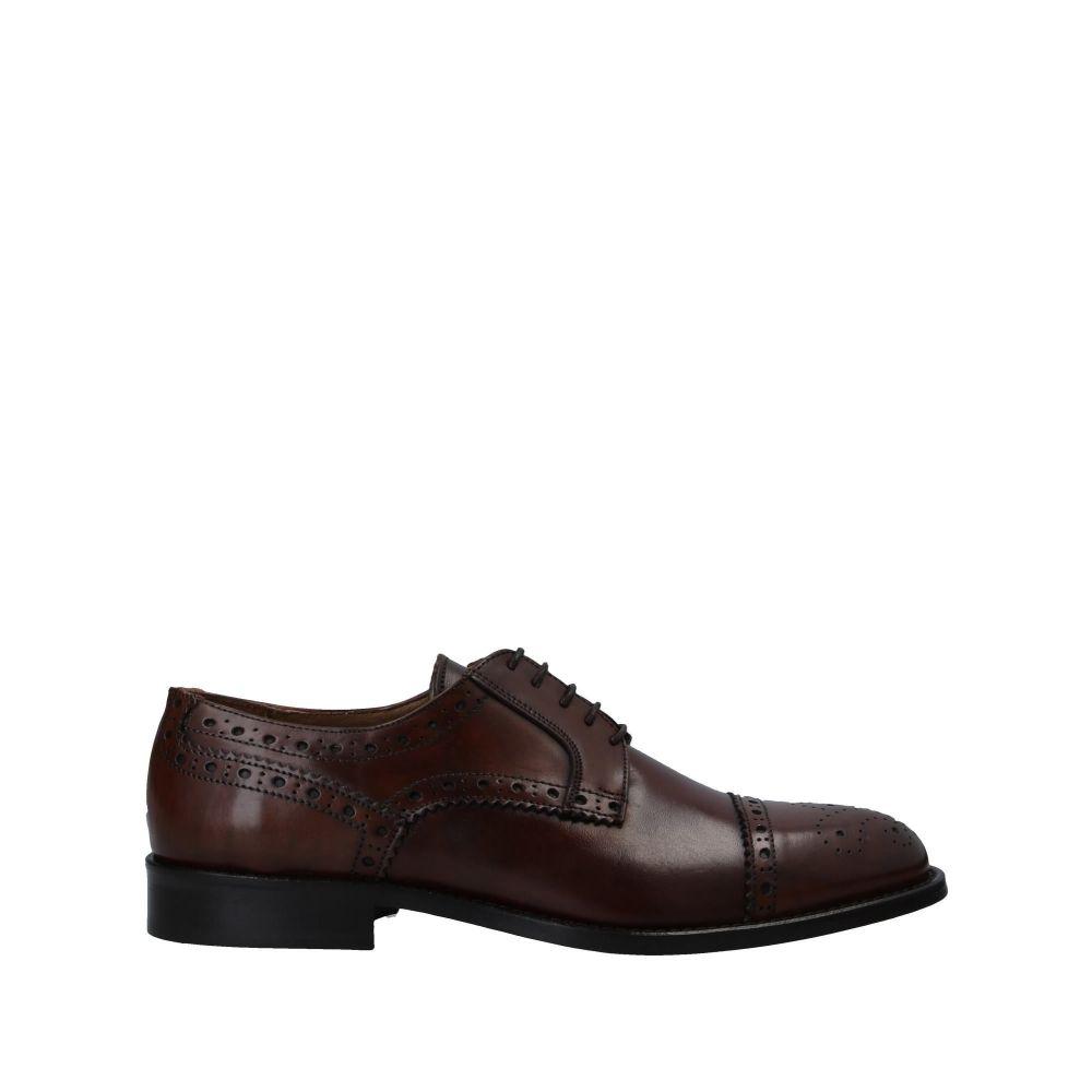 アンジェロ パロッタ ANGELO PALLOTTA メンズ シューズ・靴 【laced shoes】Brown