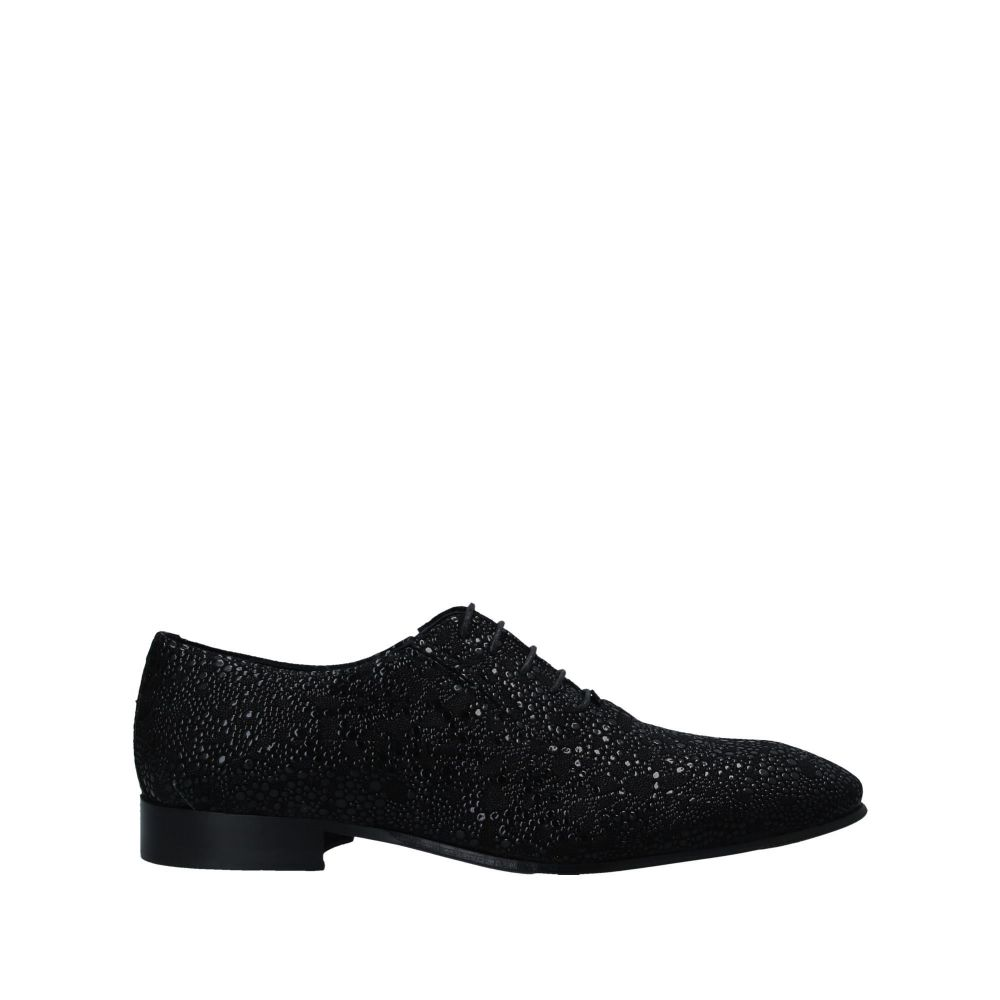 アンジェロ パロッタ ANGELO PALLOTTA メンズ シューズ・靴 【laced shoes】Black