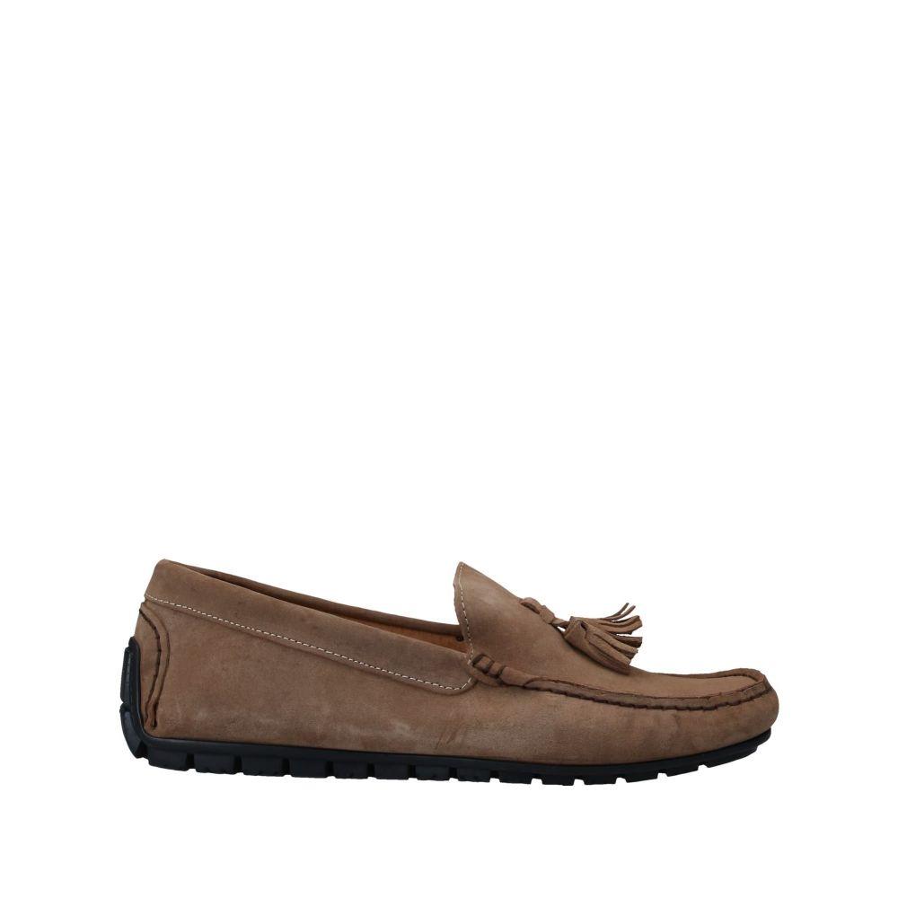 アンジェロ パロッタ ANGELO PALLOTTA メンズ ローファー シューズ・靴【loafers】Camel