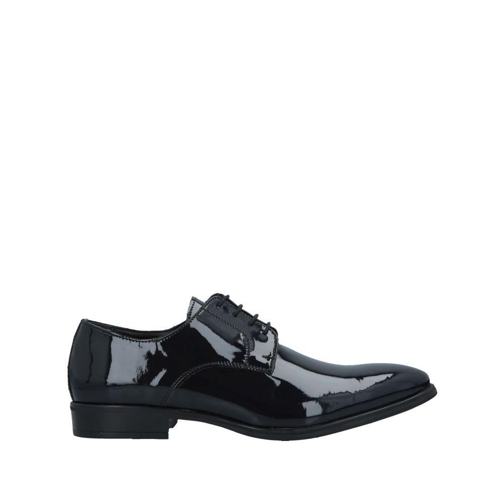 アンジェロ パロッタ ANGELO PALLOTTA メンズ シューズ・靴 【laced shoes】Dark blue