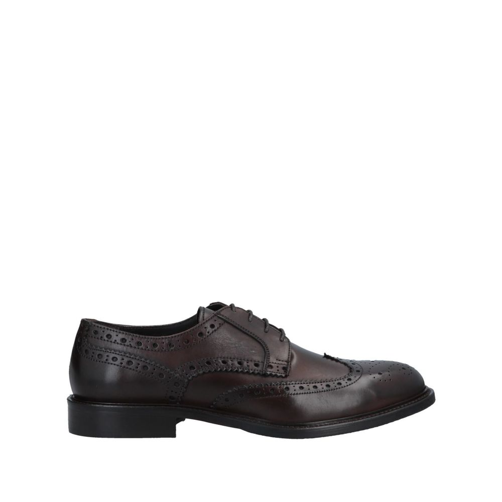 アンジェロ パロッタ ANGELO PALLOTTA メンズ シューズ・靴 【laced shoes】Dark brown