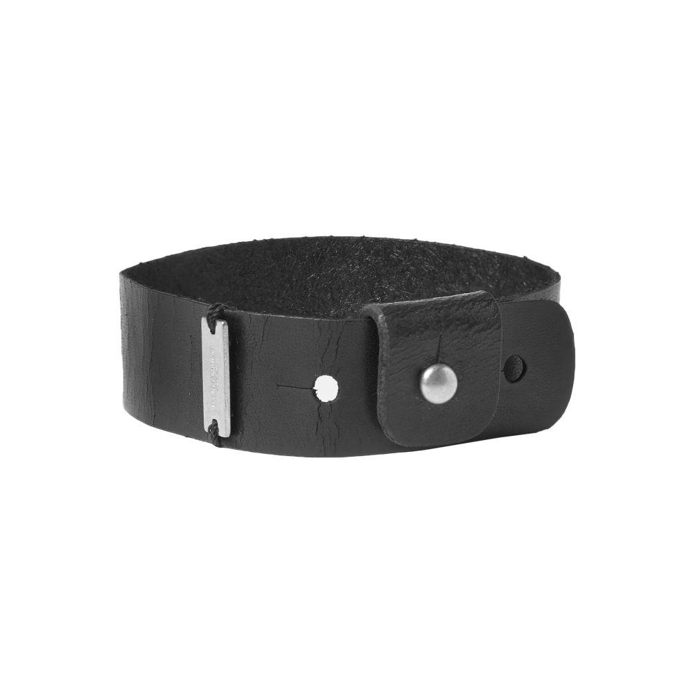 イヴ サンローラン SAINT LAURENT メンズ ブレスレット ジュエリー・アクセサリー【bracelet】Black