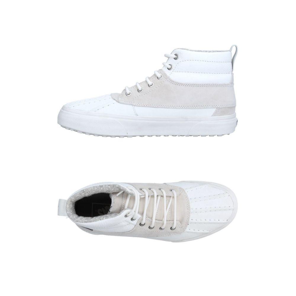 ヴァンズ VANS メンズ スニーカー シューズ・靴【sneakers】White