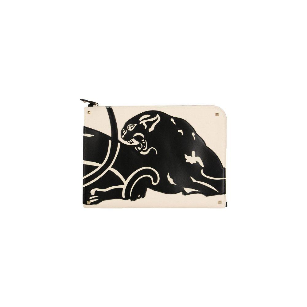 ヴァレンティノ VALENTINO GARAVANI メンズ ビジネスバッグ・ブリーフケース バッグ【document holder】Ivory