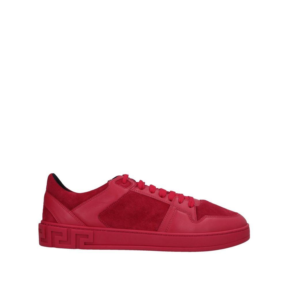 ヴェルサーチ VERSACE メンズ スニーカー シューズ・靴【sneakers】Red