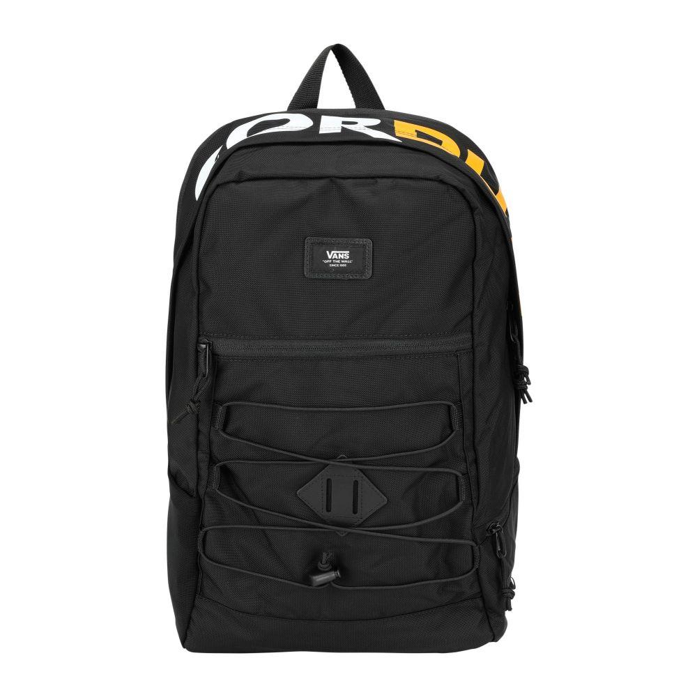 ヴァンズ VANS メンズ バックパック・リュック バッグ【mn snag plus backpack】Black