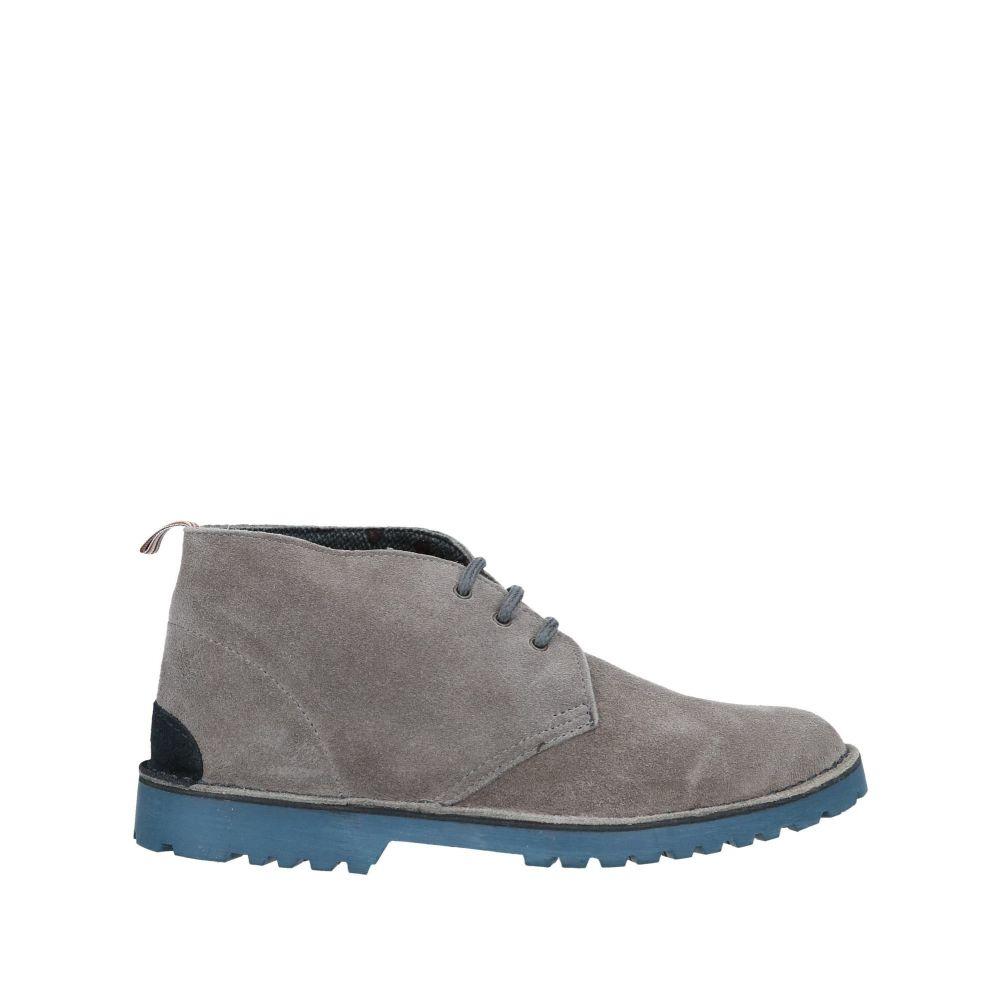 パウロダポンテ PAOLO DA PONTE メンズ ブーツ シューズ・靴【boots】Grey
