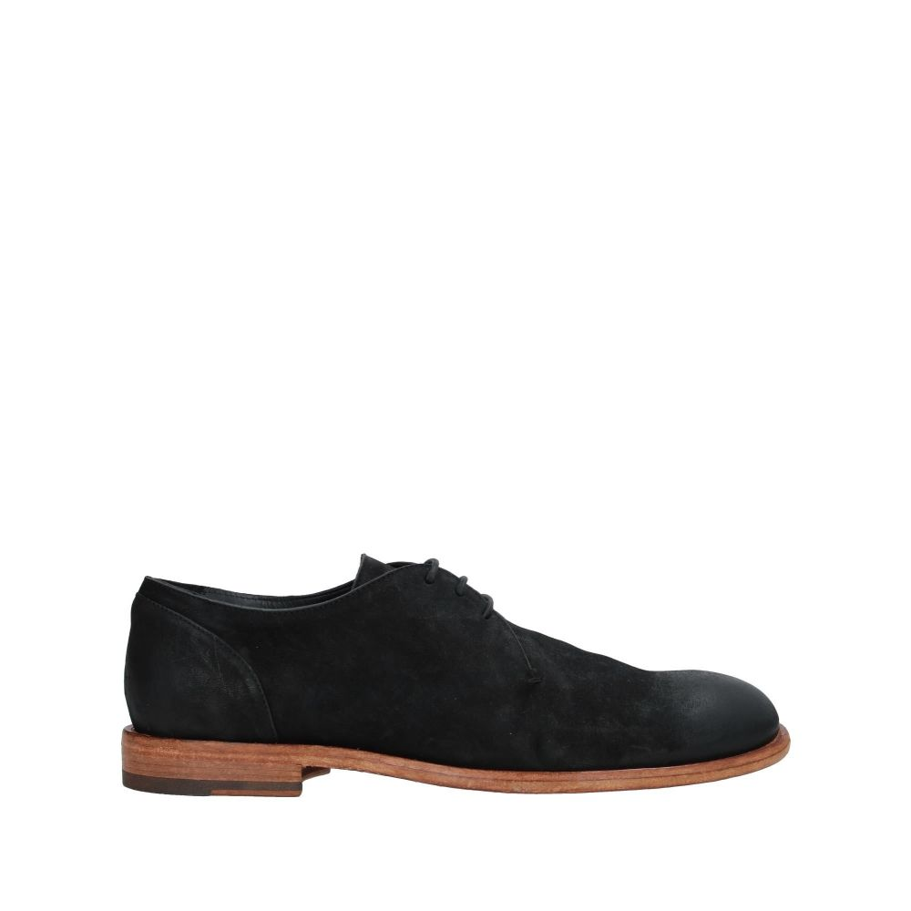 アーネストドラーニ ERNESTO DOLANI メンズ シューズ・靴 【laced shoes】Black