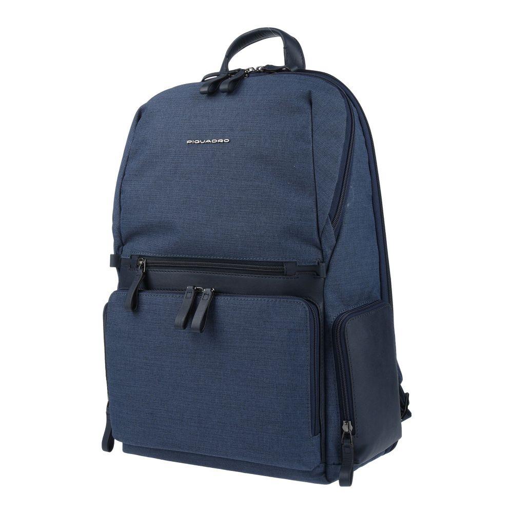 ピクアドロ PIQUADRO メンズ バッグ 【backpack & fanny pack】Slate blue