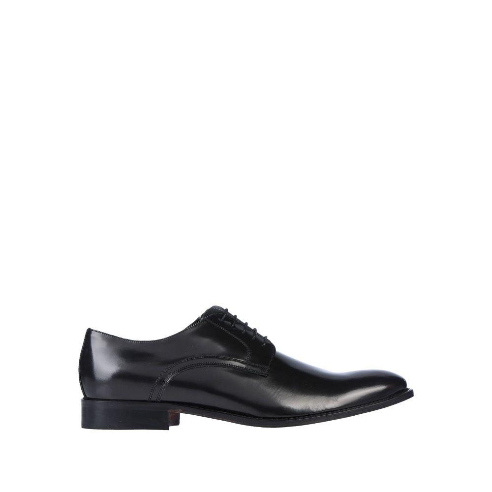 ポリーニ POLLINI メンズ シューズ・靴 【laced shoes】Dark blue