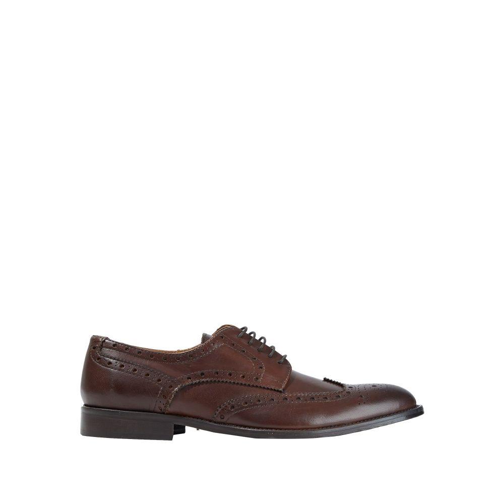 メンズ ANGELO パロッタ PALLOTTA シューズ・靴 アンジェロ 【laced shoes】Dark brown