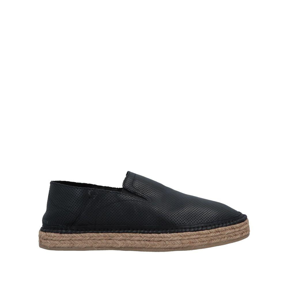 ニール バレット NEIL BARRETT メンズ エスパドリーユ シューズ・靴【espadrilles】Black