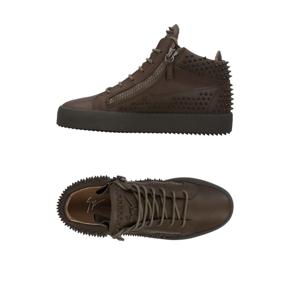 ジュゼッペ ザノッティ GIUSEPPE ZANOTTI メンズ スニーカー シューズ・靴【sneakers】Khaki