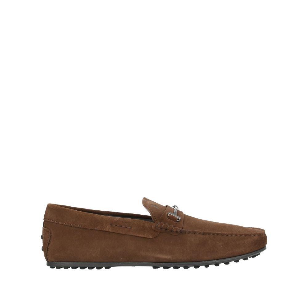 トッズ メンズ シューズ・靴 ローファー Cocoa 【サイズ交換無料】 トッズ TOD'S メンズ ローファー シューズ・靴【loafers】Cocoa