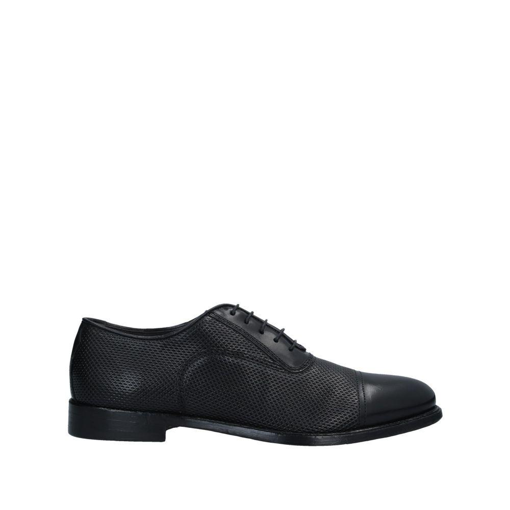コルバリ CORVARI メンズ シューズ・靴 【laced shoes】Black