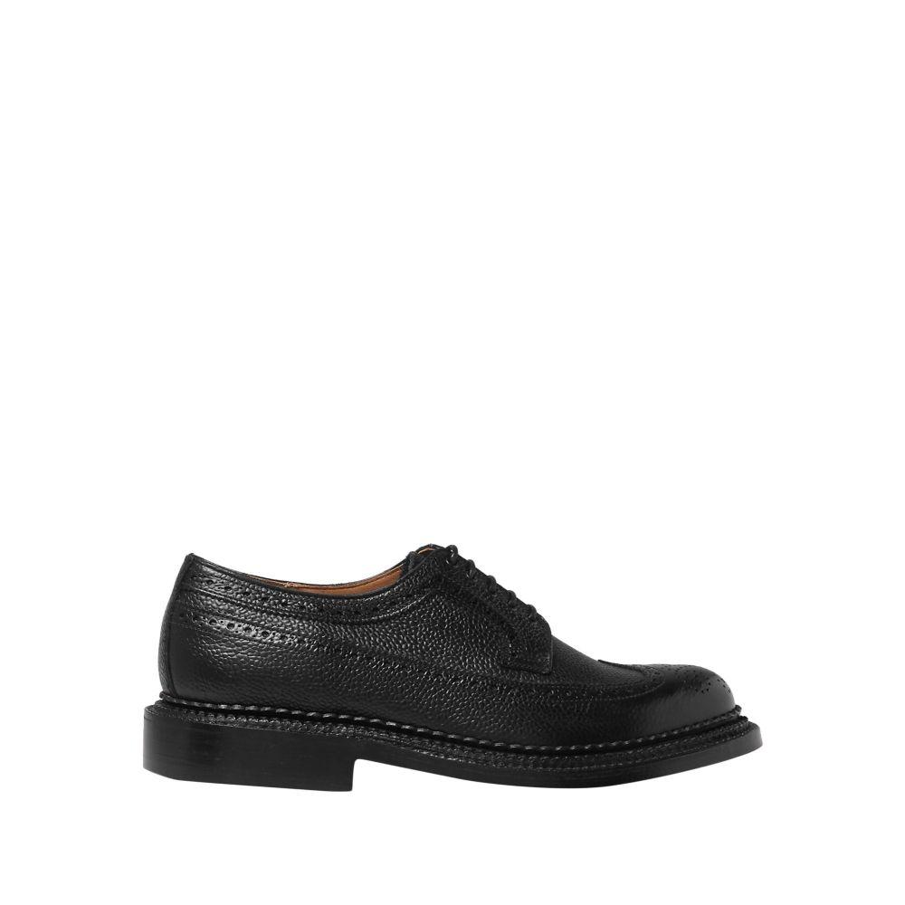 グレンソン GRENSON メンズ シューズ・靴 【laced shoes】Black