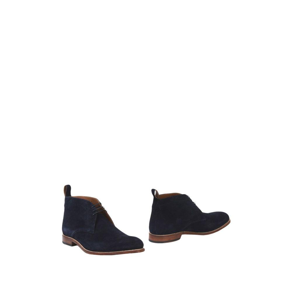 グレンソン GRENSON メンズ ブーツ シューズ・靴【boots】Dark blue