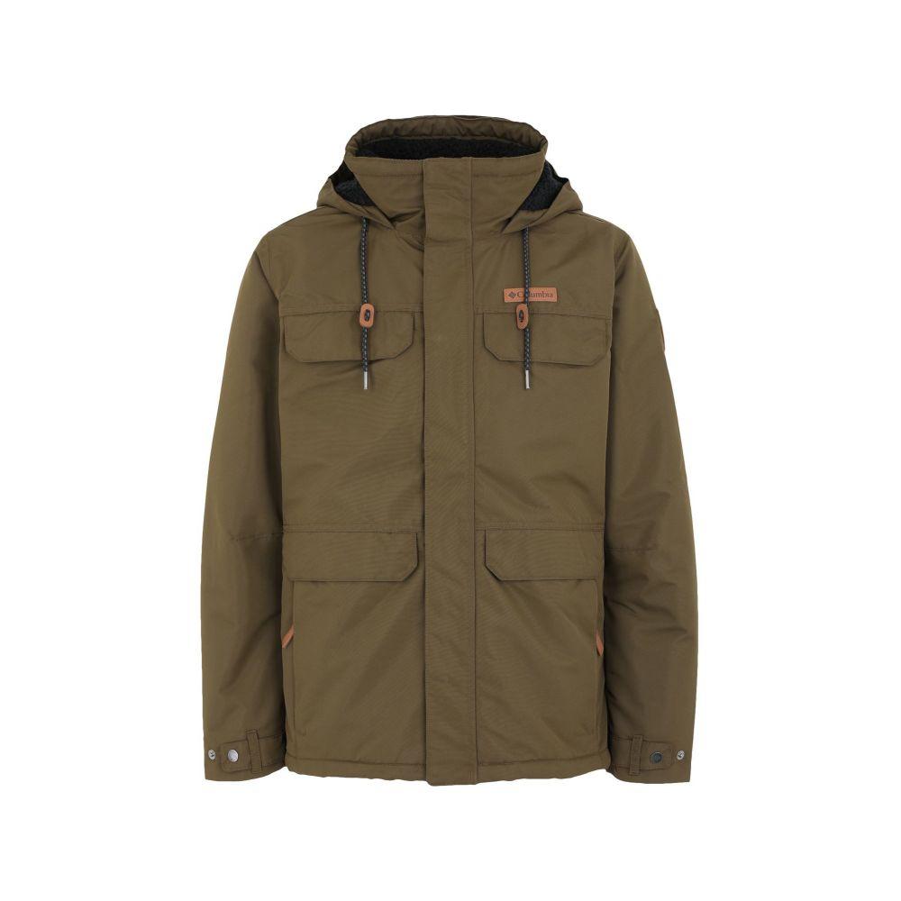 コロンビア COLUMBIA メンズ ジャケット アウター【south canyon lined jacke-shark jacket】Military green