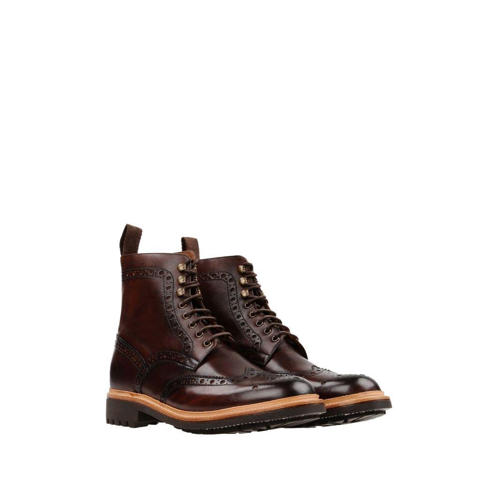 グレンソン メンズ シューズ・靴 ブーツ Dark brown 【サイズ交換無料】 グレンソン GRENSON メンズ ブーツ シューズ・靴【boots】Dark brown