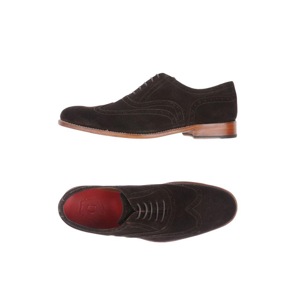 グレンソン GRENSON メンズ シューズ・靴 【laced shoes】Dark brown