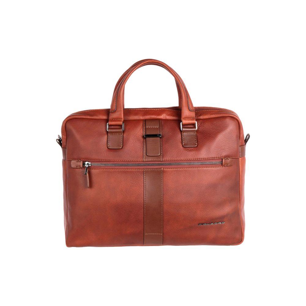 ピクアドロ PIQUADRO メンズ ビジネスバッグ・ブリーフケース バッグ【work bag】Tan