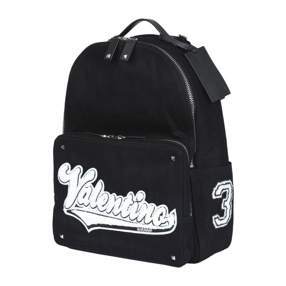 ヴァレンティノ VALENTINO GARAVANI メンズ バッグ 【backpack & fanny pack】Black