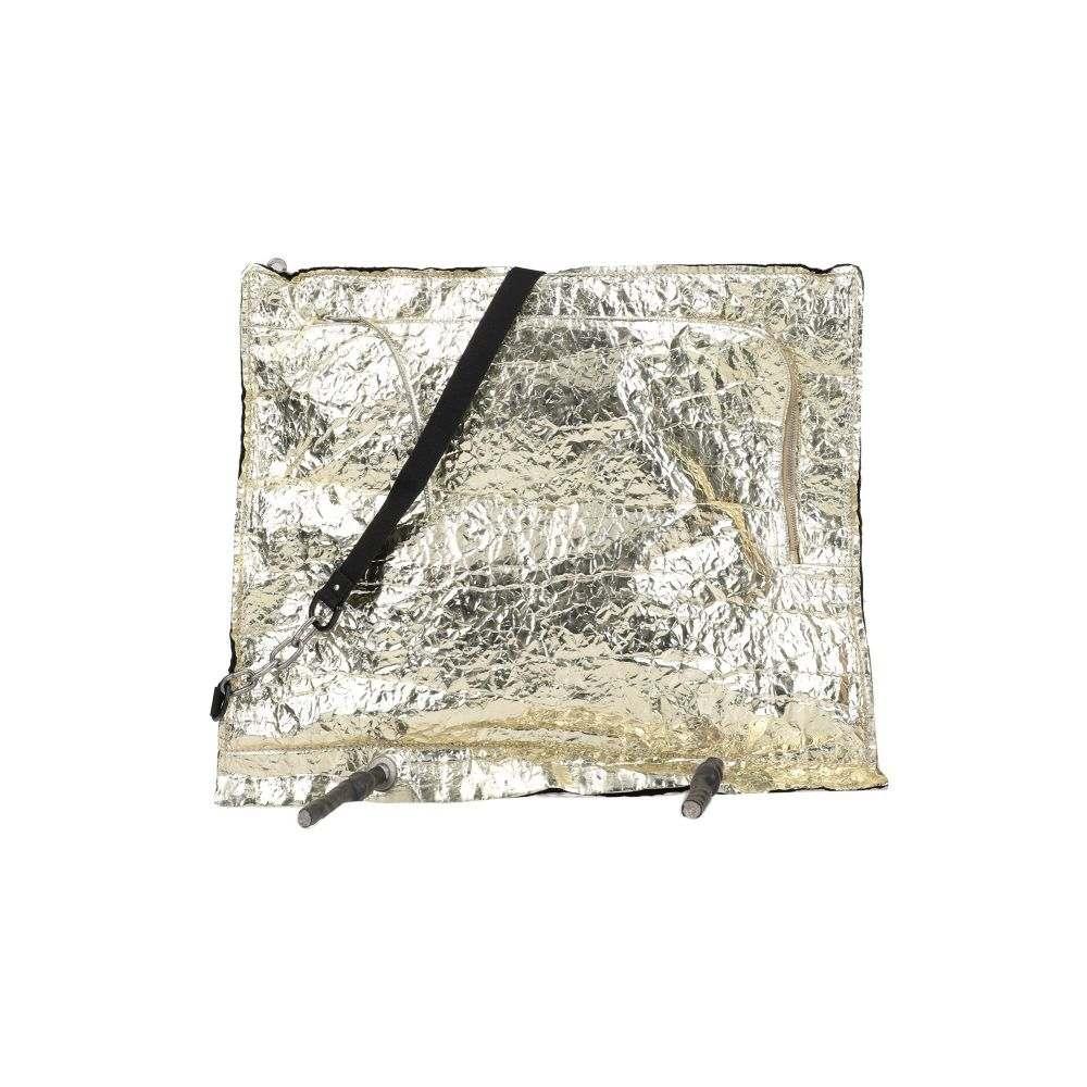リック オウエンス RICK OWENS メンズ ショルダーバッグ バッグ【cross-body bags】Platinum