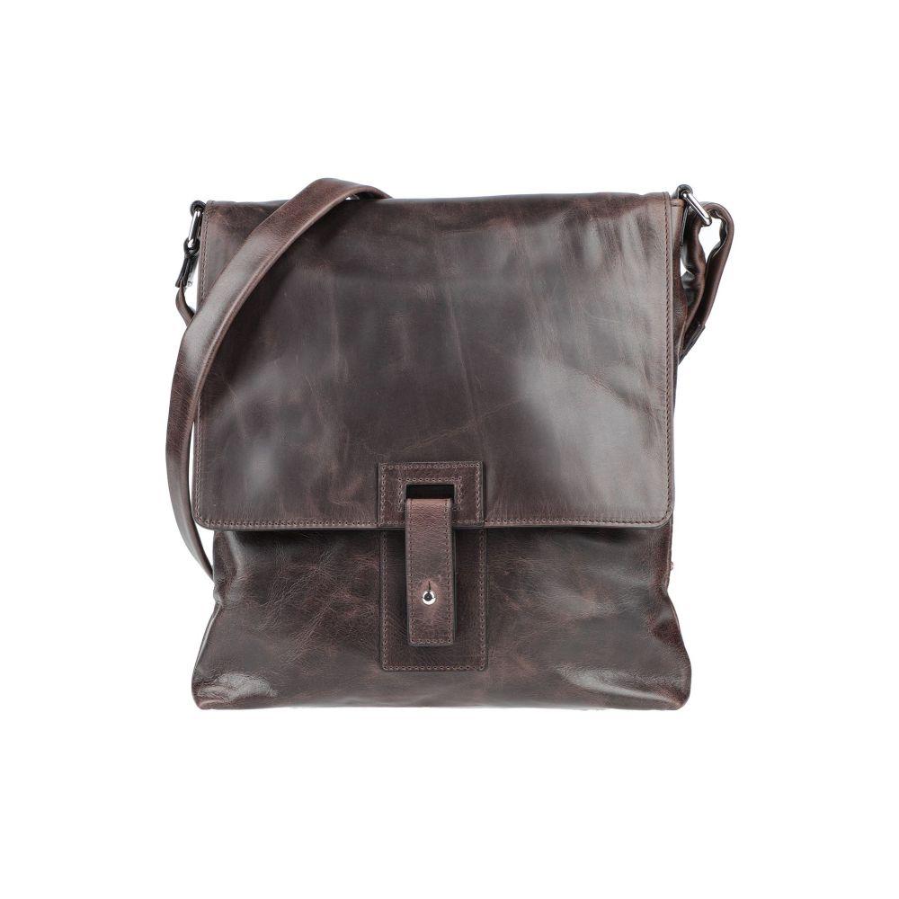 オルチアーニ ORCIANI メンズ ショルダーバッグ バッグ【cross-body bags】Dark brown
