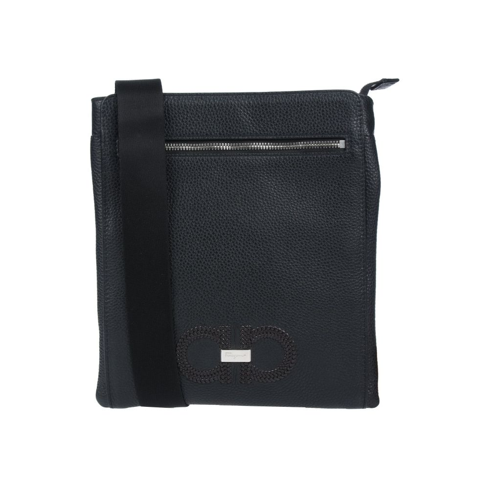 サルヴァトーレ フェラガモ SALVATORE FERRAGAMO メンズ ショルダーバッグ バッグ【cross-body bags】Black