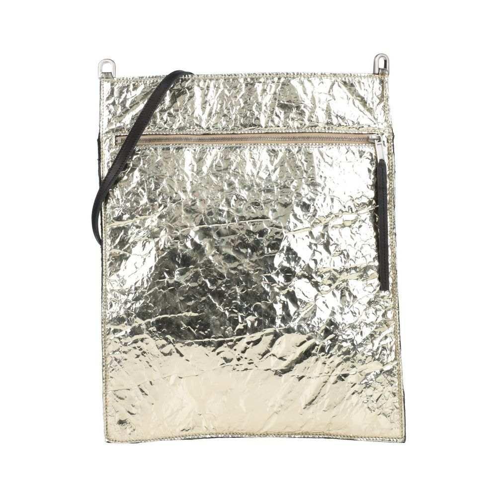 リック オウエンス RICK OWENS メンズ ショルダーバッグ バッグ【cross-body bags】Gold