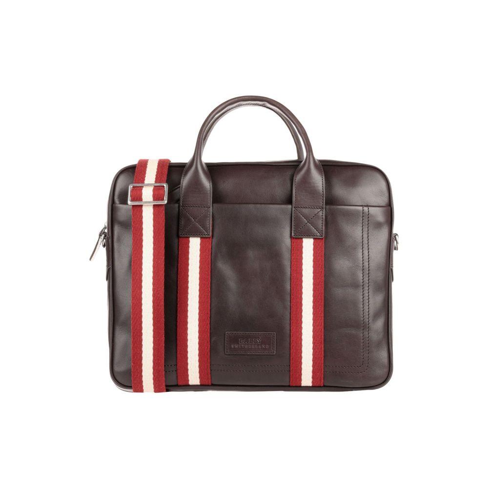 バリー BALLY メンズ ビジネスバッグ・ブリーフケース バッグ【work bag】Dark brown