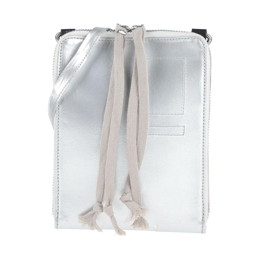 ダークシャドウ DRKSHDW by RICK OWENS メンズ ショルダーバッグ バッグ【cross-body bags】Silver