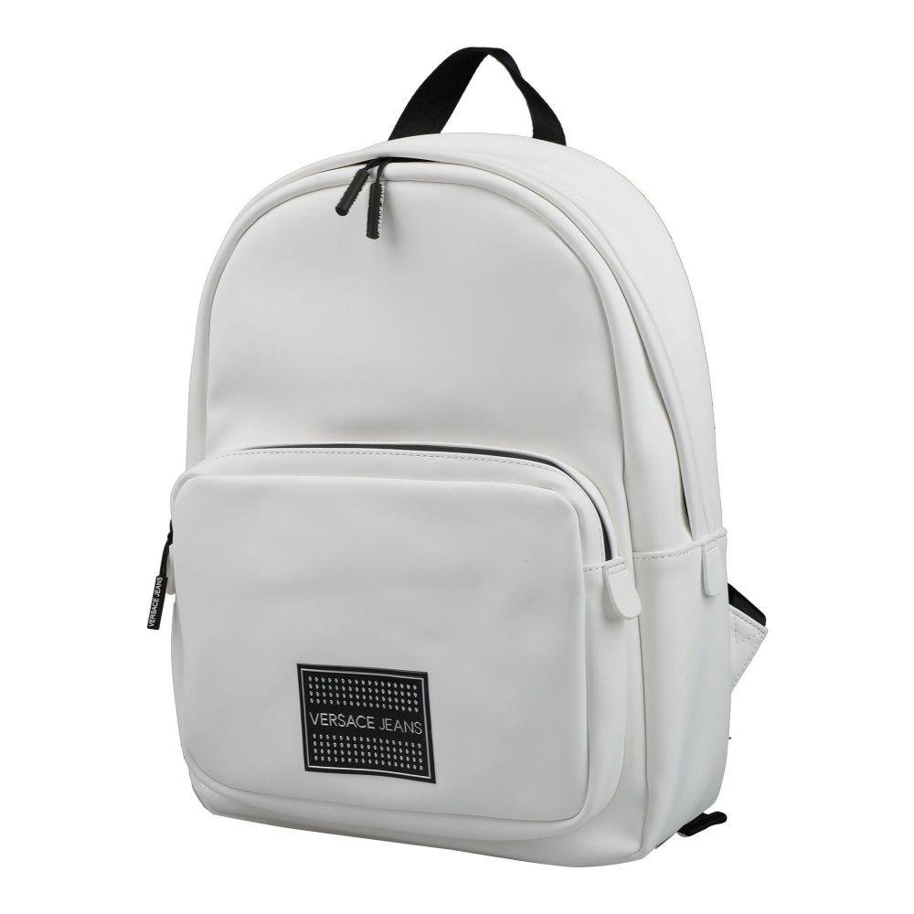 ヴェルサーチ VERSACE JEANS メンズ バッグ 【backpack & fanny pack】White