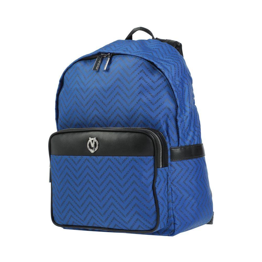 ヴェルサーチ VERSACE JEANS メンズ バッグ 【backpack & fanny pack】Bright blue