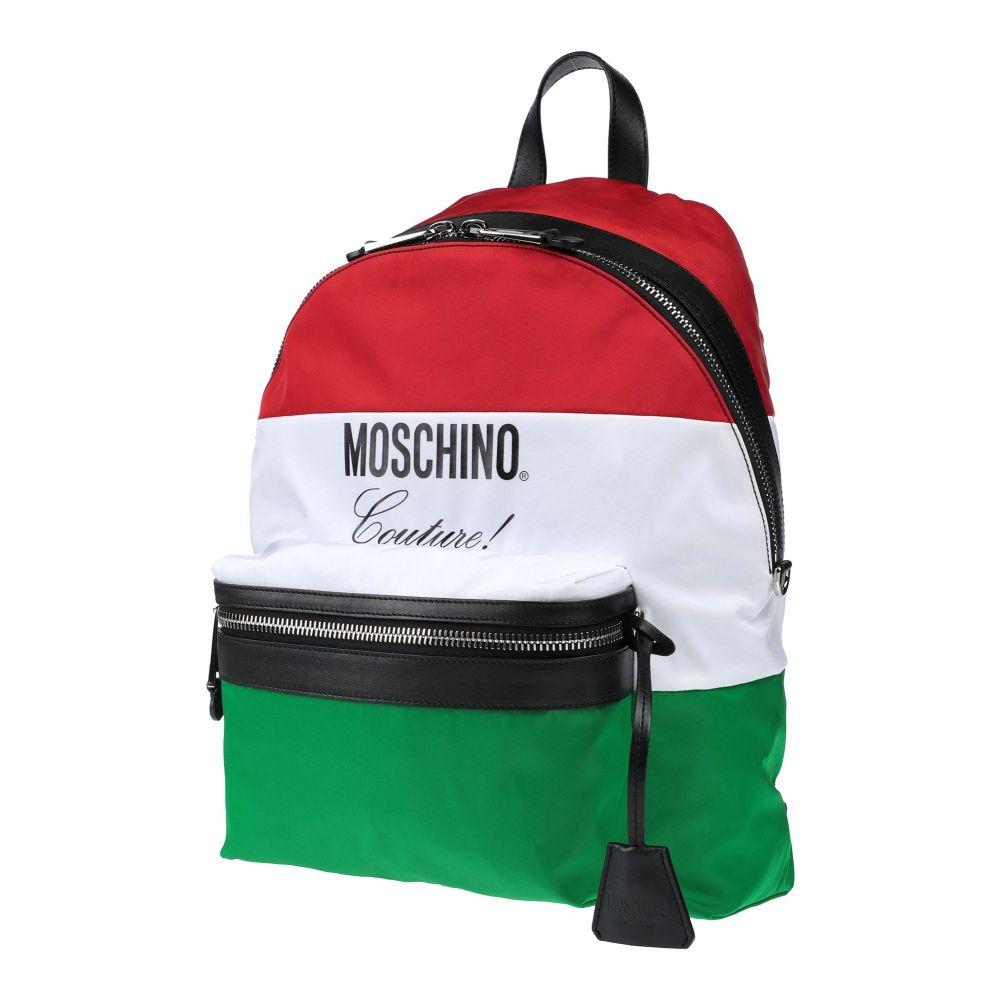 モスキーノ MOSCHINO メンズ バッグ 【backpack & fanny pack】Red