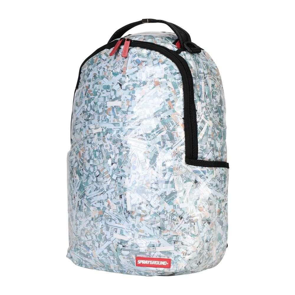 スプレイグラウンド SPRAYGROUND メンズ バックパック・リュック バッグ【shredded money backpack】White