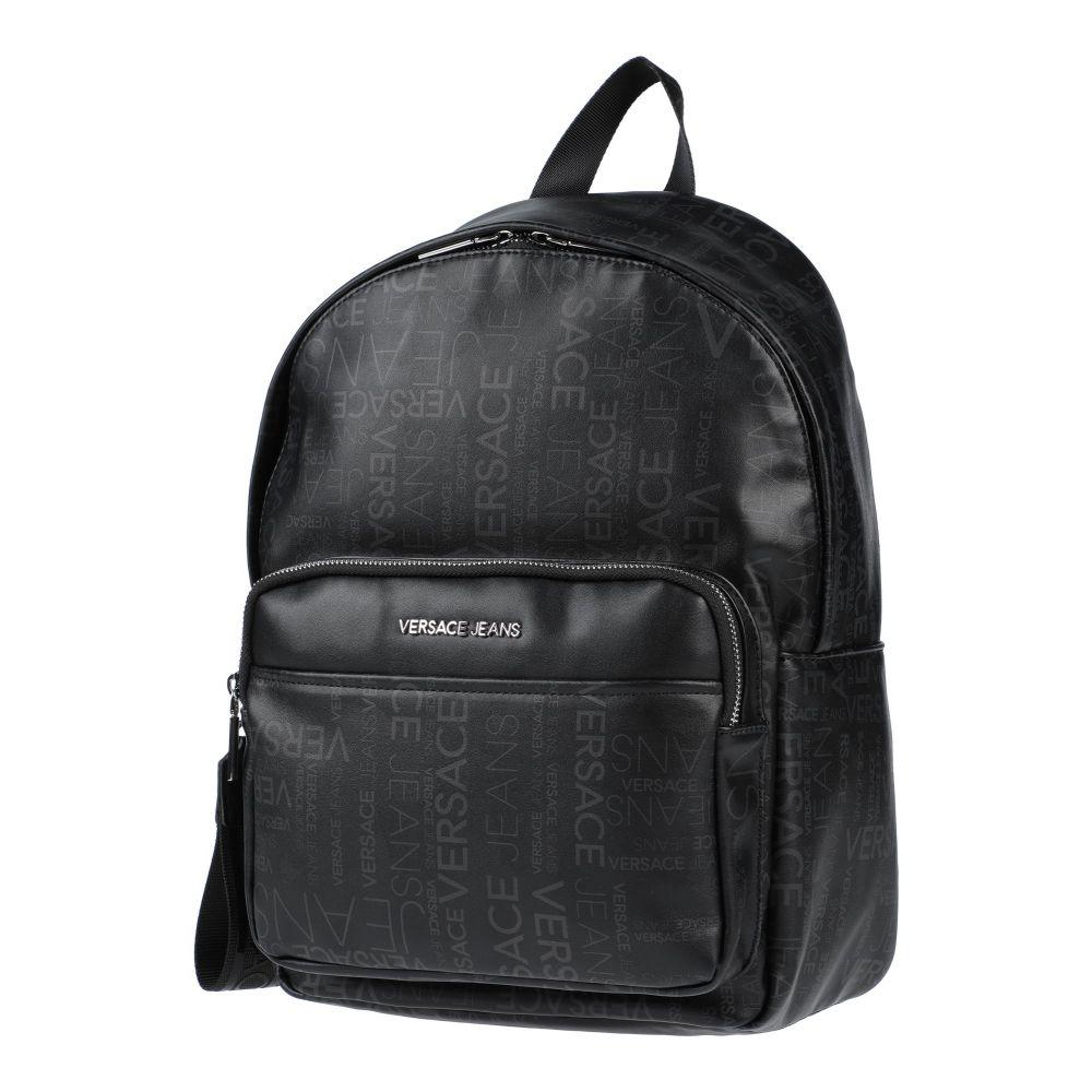ヴェルサーチ VERSACE JEANS メンズ バッグ 【backpack & fanny pack】Black