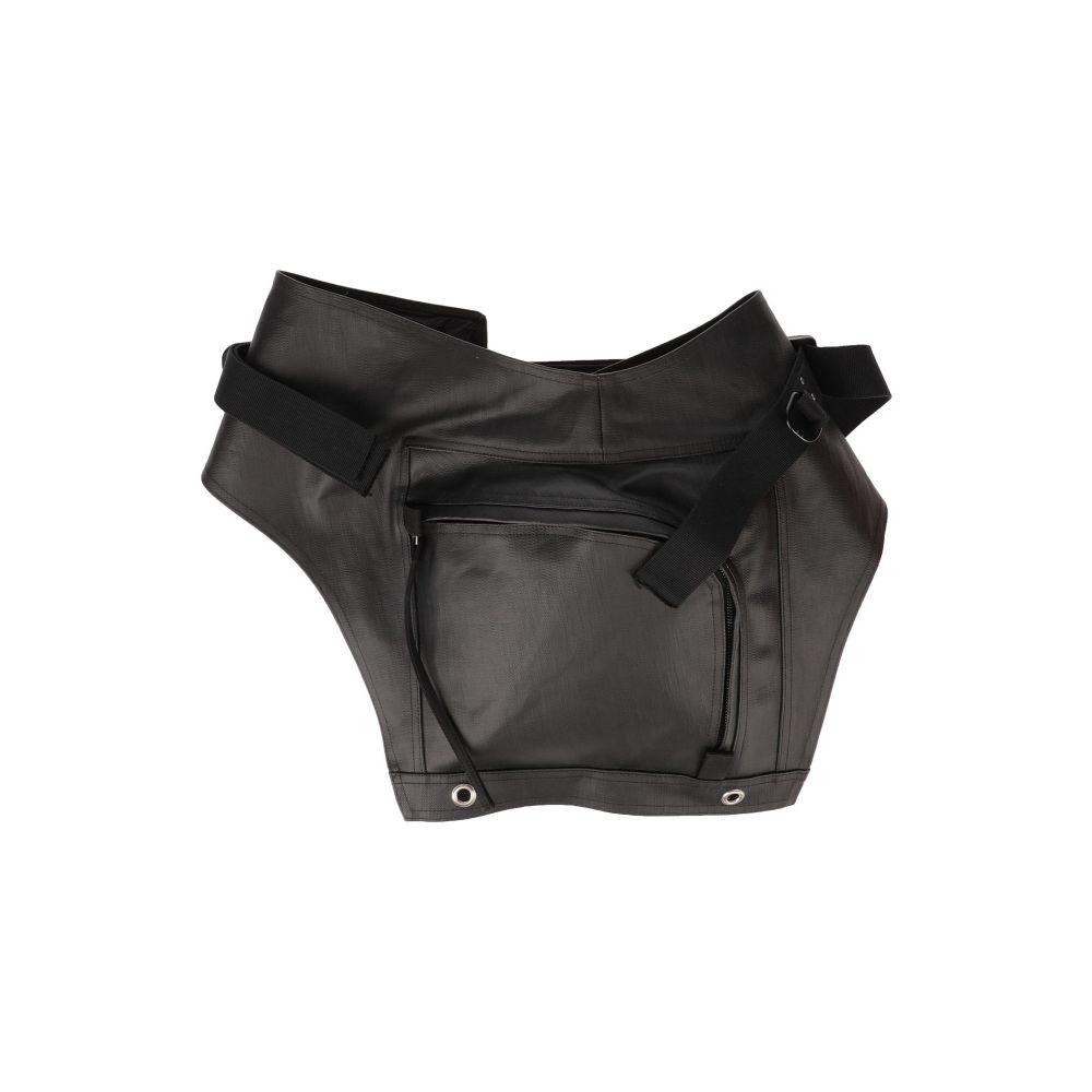 リック オウエンス RICK OWENS メンズ バッグ 【backpack & fanny pack】Black