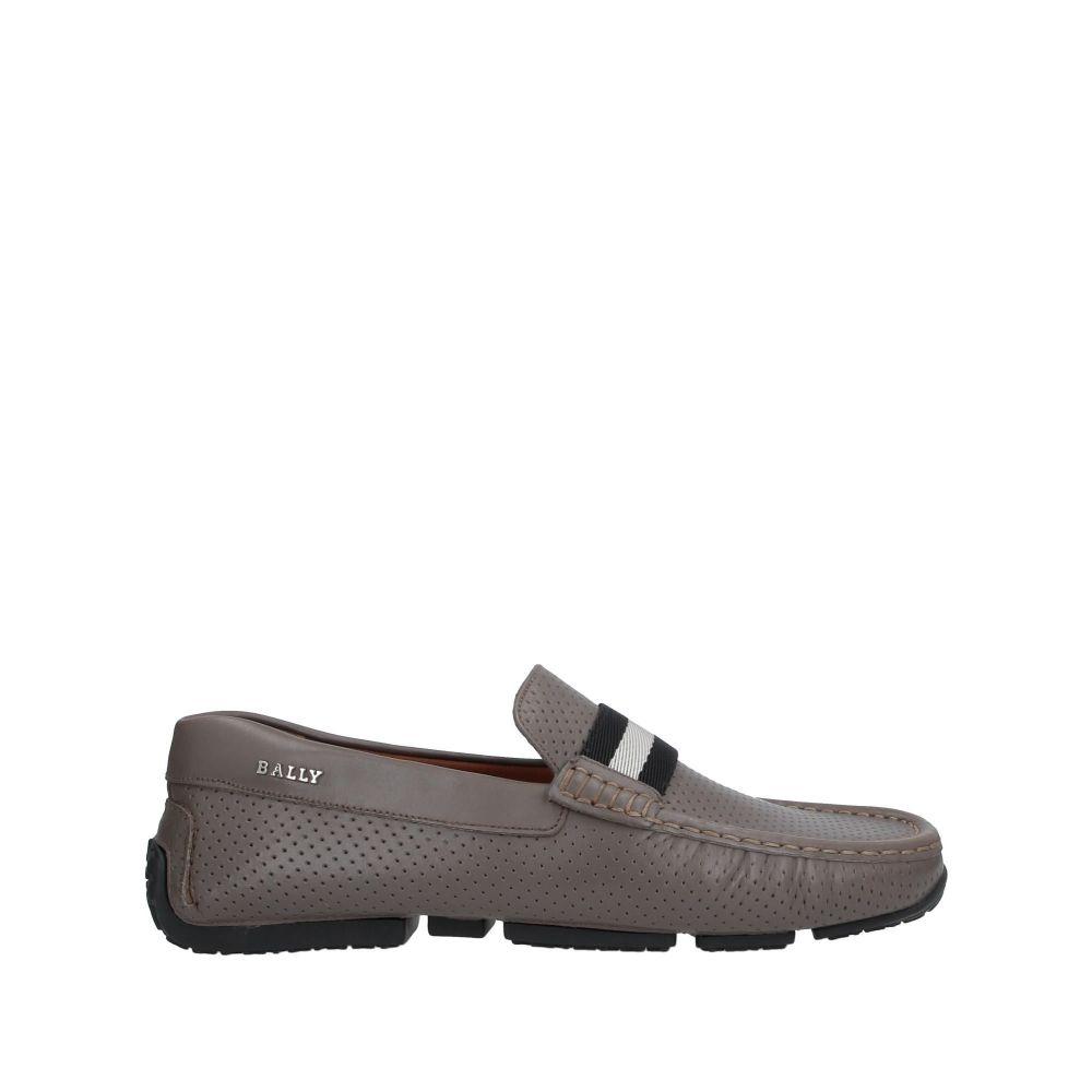 バリー BALLY メンズ ローファー シューズ・靴【loafers】Grey