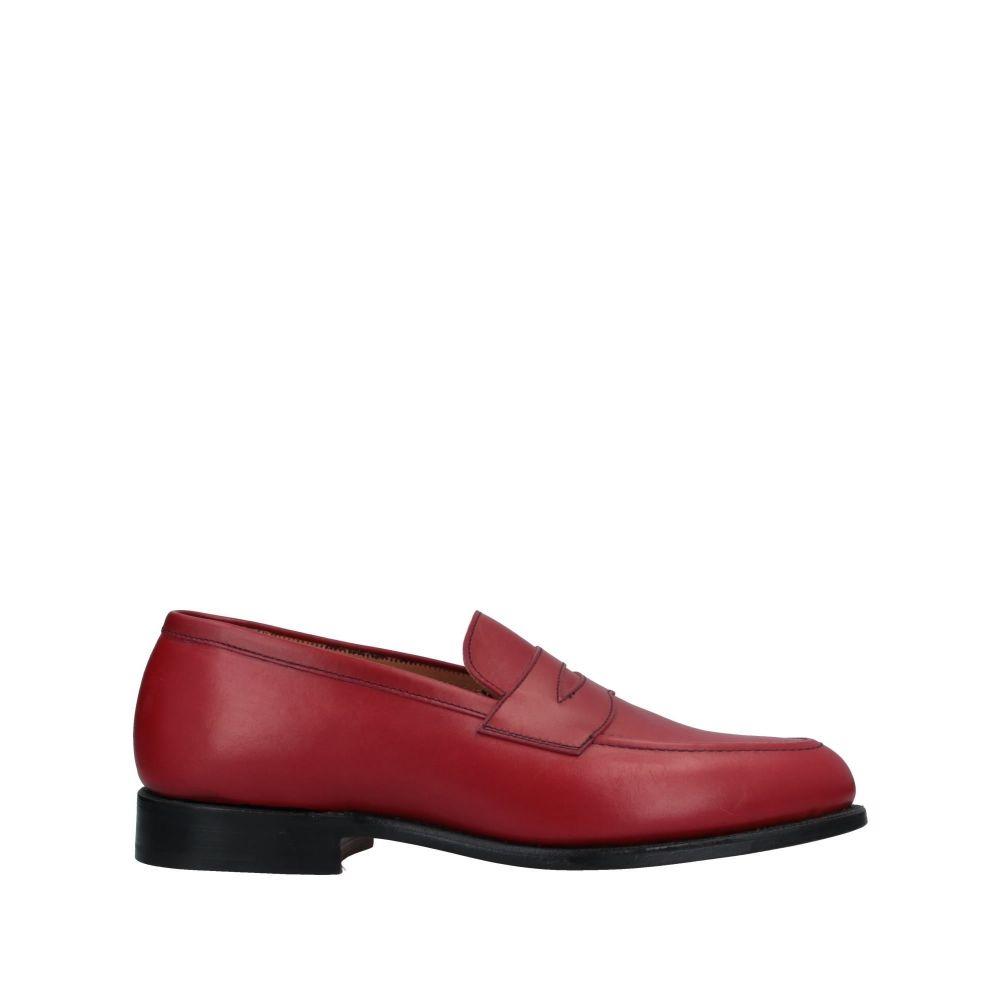 トリッカーズ TRICKER'S メンズ ローファー シューズ・靴【loafers】Red