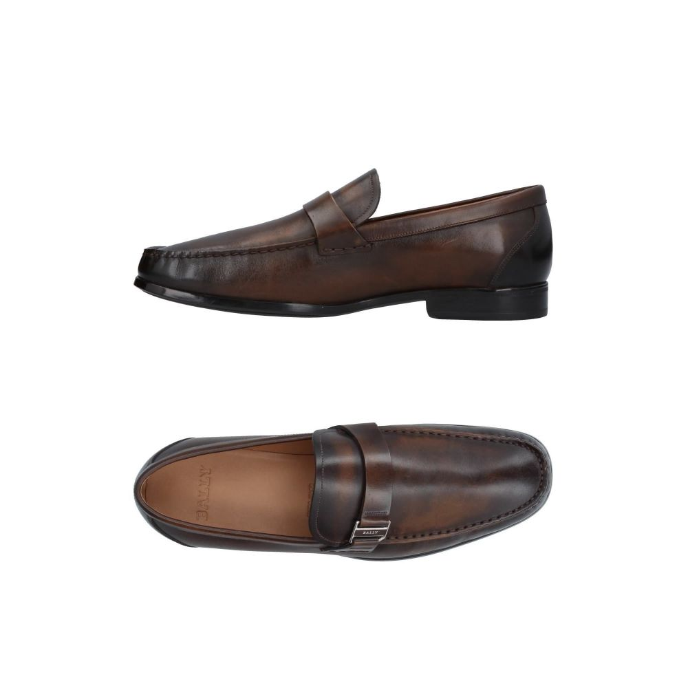 バリー メンズ シューズ・靴 ローファー Dark brown 【サイズ交換無料】 バリー BALLY メンズ ローファー シューズ・靴【loafers】Dark brown