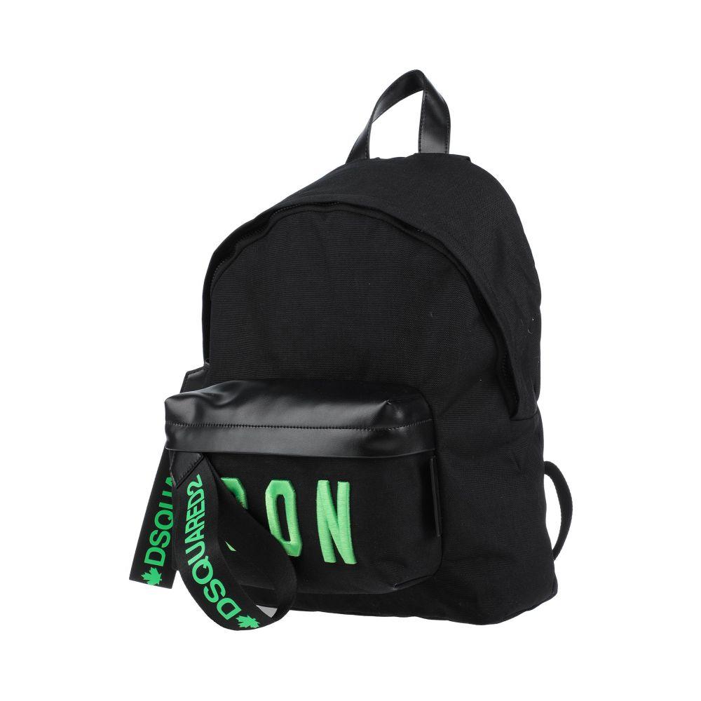 ディースクエアード DSQUARED2 メンズ バッグ 【backpack & fanny pack】Black