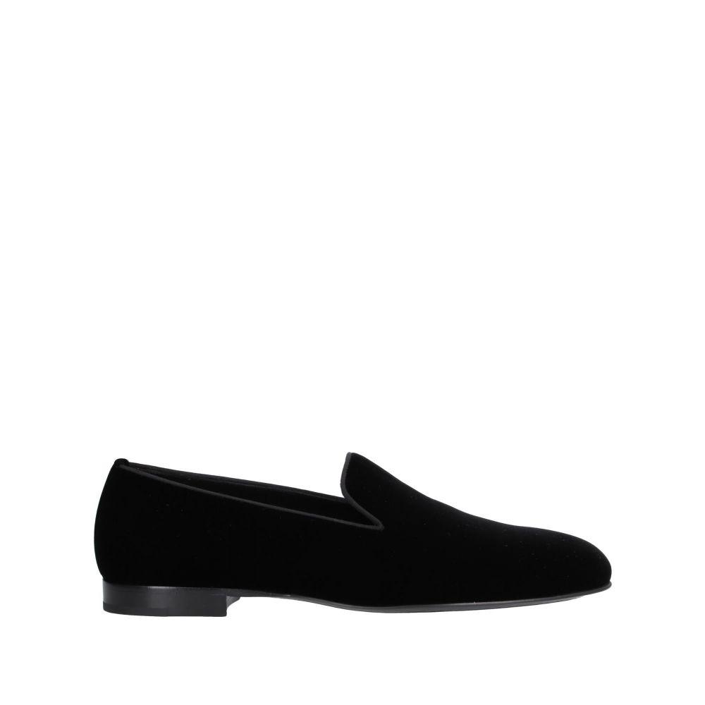 イヴ サンローラン SAINT LAURENT メンズ ローファー シューズ・靴【loafers】Black