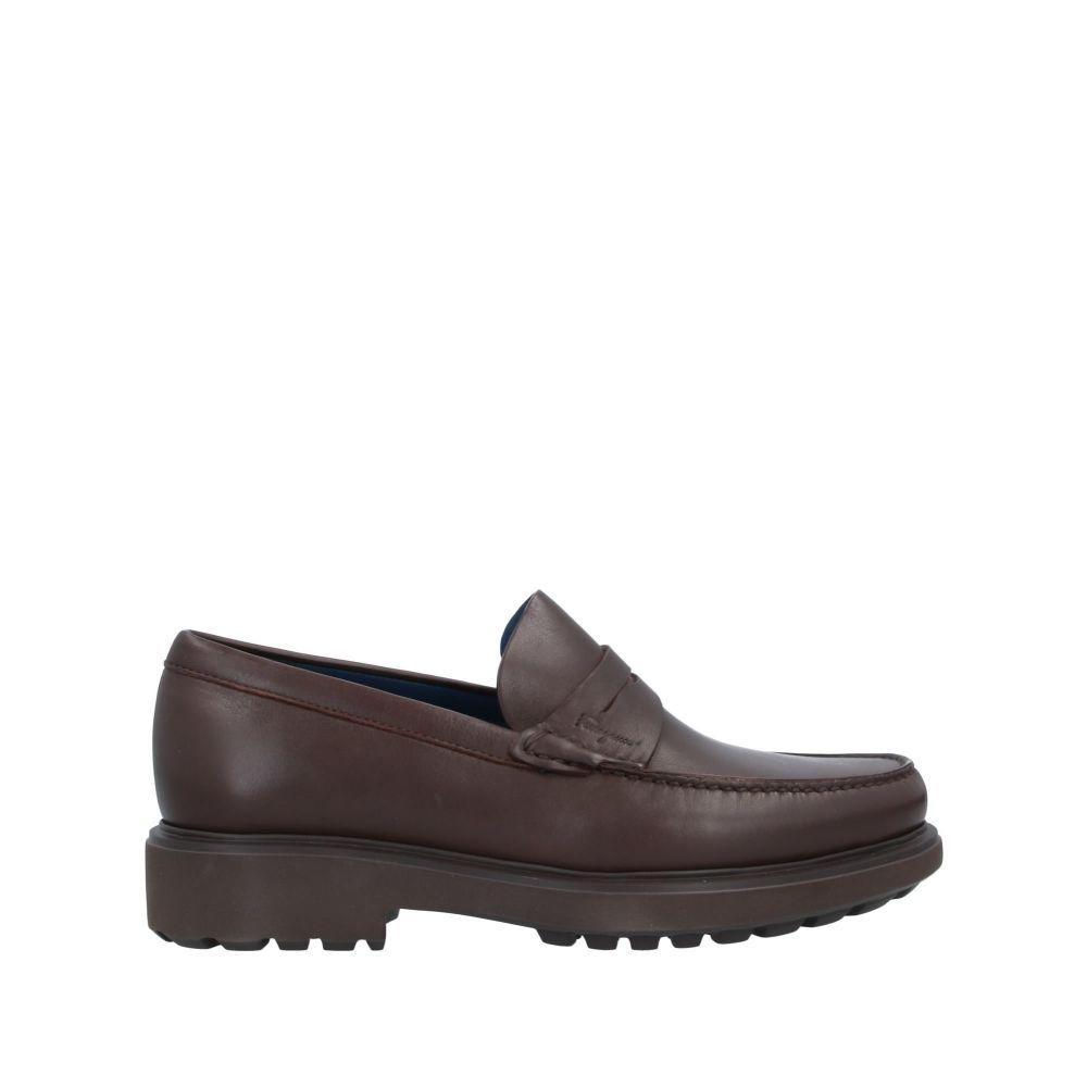 サルヴァトーレ フェラガモ SALVATORE FERRAGAMO メンズ ローファー シューズ・靴【loafers】Dark brown